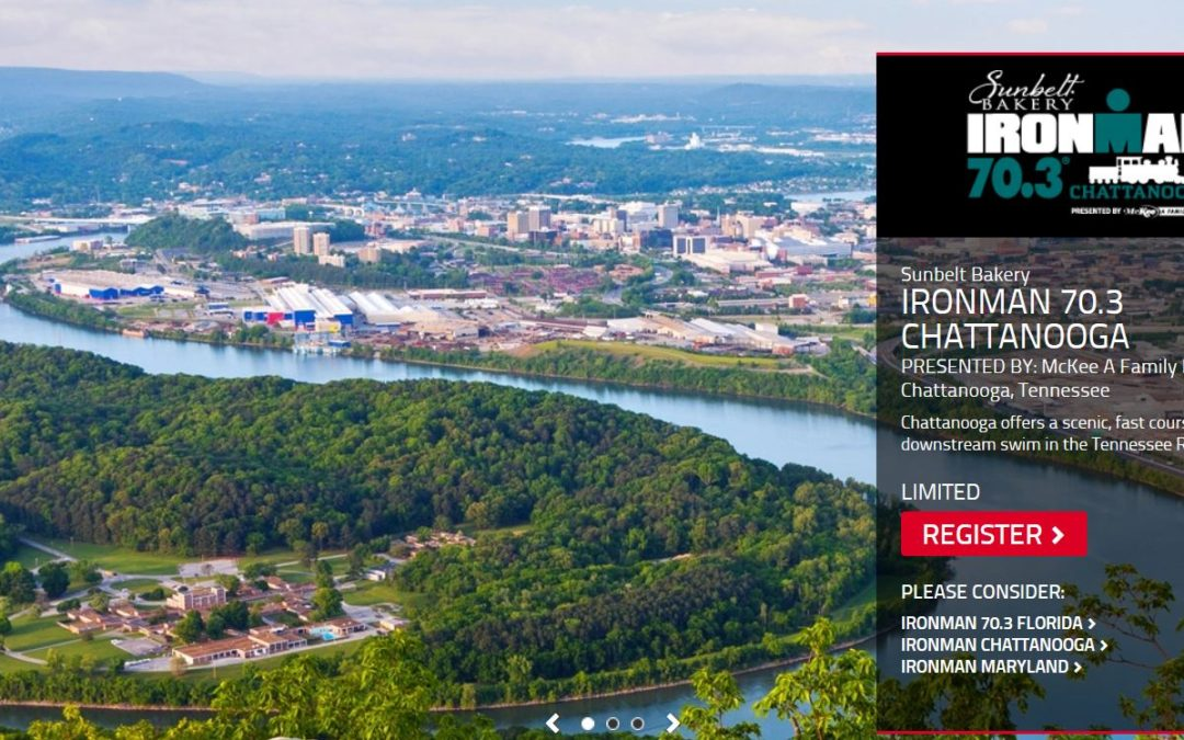 IRONMAN 70.3 CHATTANOOGA Race Course Tips // 2019