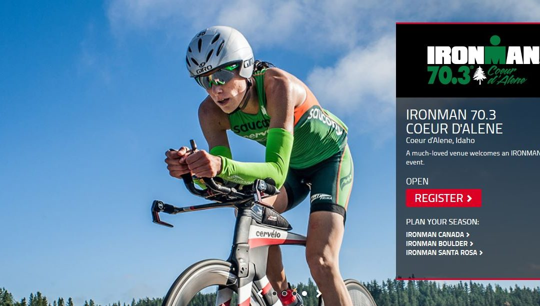 IRONMAN 70.3 COEUR D'ALENE Race Course Tips // 2019