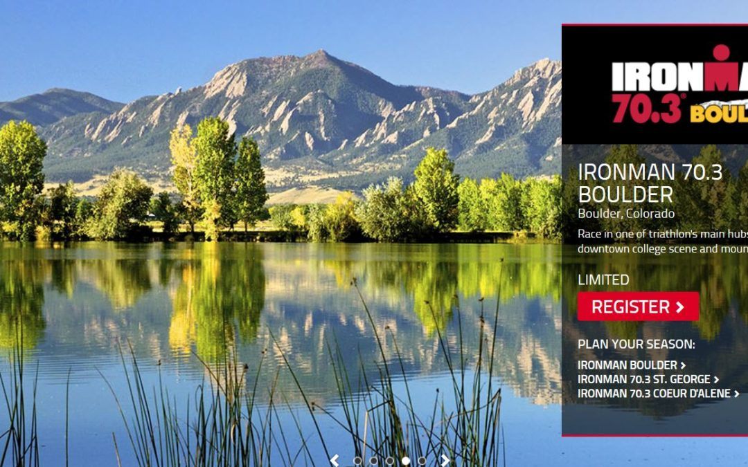 IRONMAN 70.3 BOULDER Course Overview // 2019